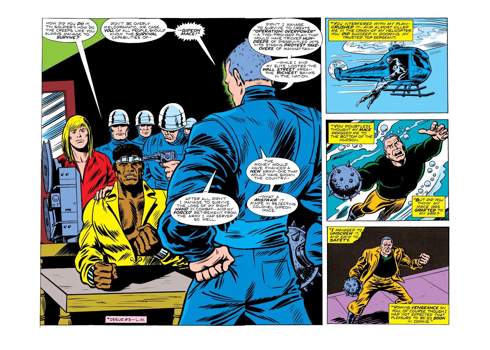 Read online Marvel Masterworks: Luke Cage, Power Man comic -  Issue # TPB 2 (Part 2) - 38