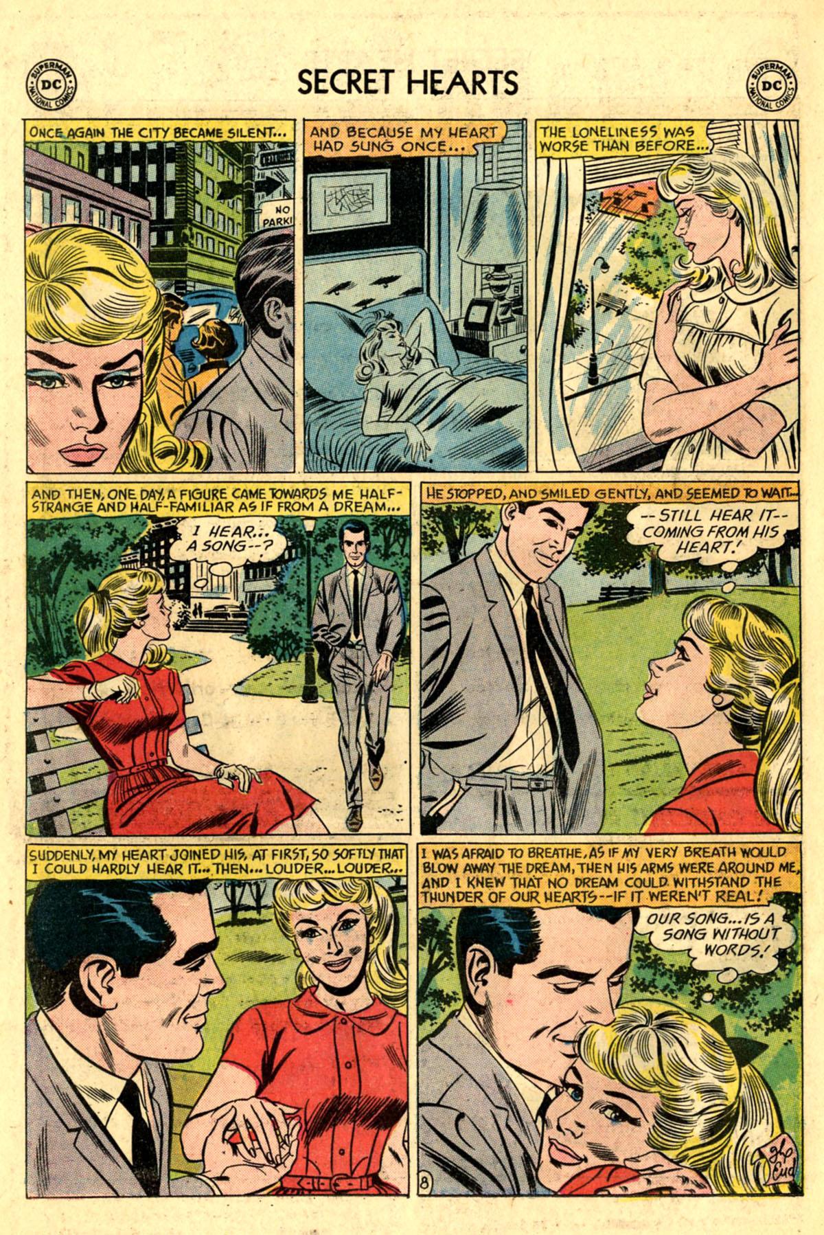Read online Secret Hearts comic -  Issue #83 - 34