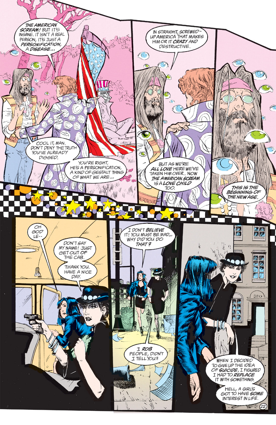 Read online Shade, the Changing Man comic -  Issue #8 - 19
