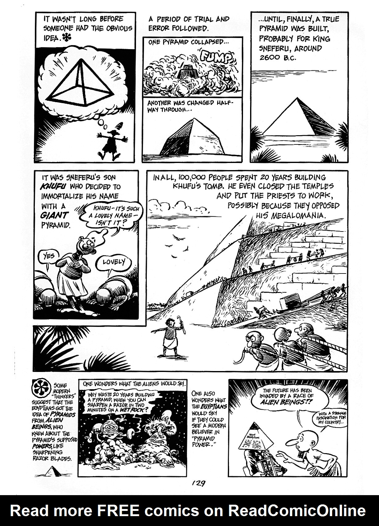 Read online The Cartoon History of the Universe comic -  Issue #3 - 29