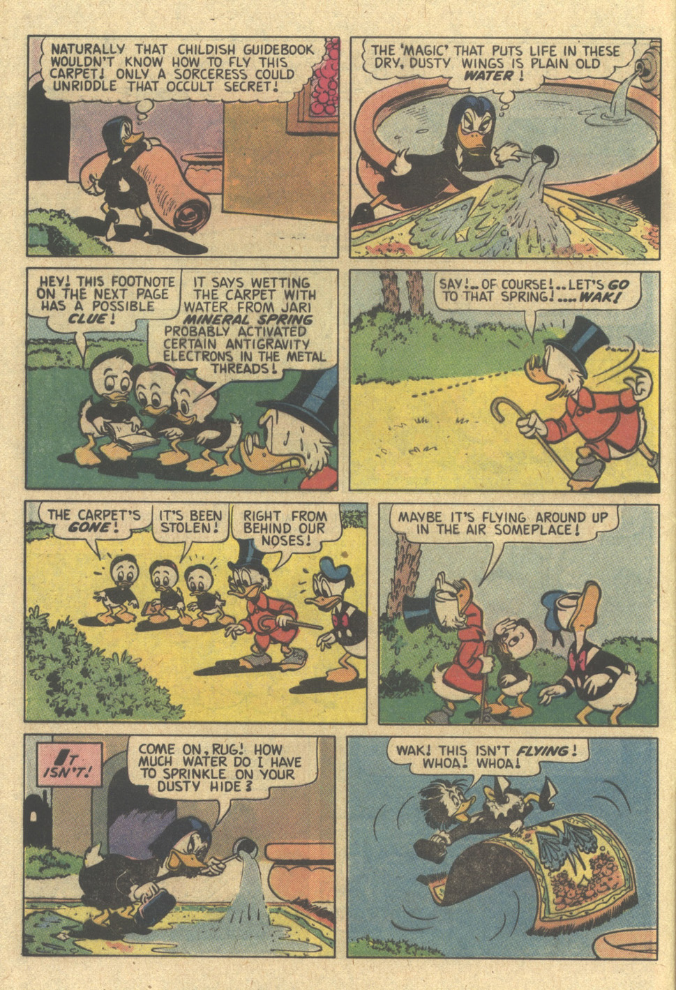 Read online Uncle Scrooge (1953) comic -  Issue #187 - 8