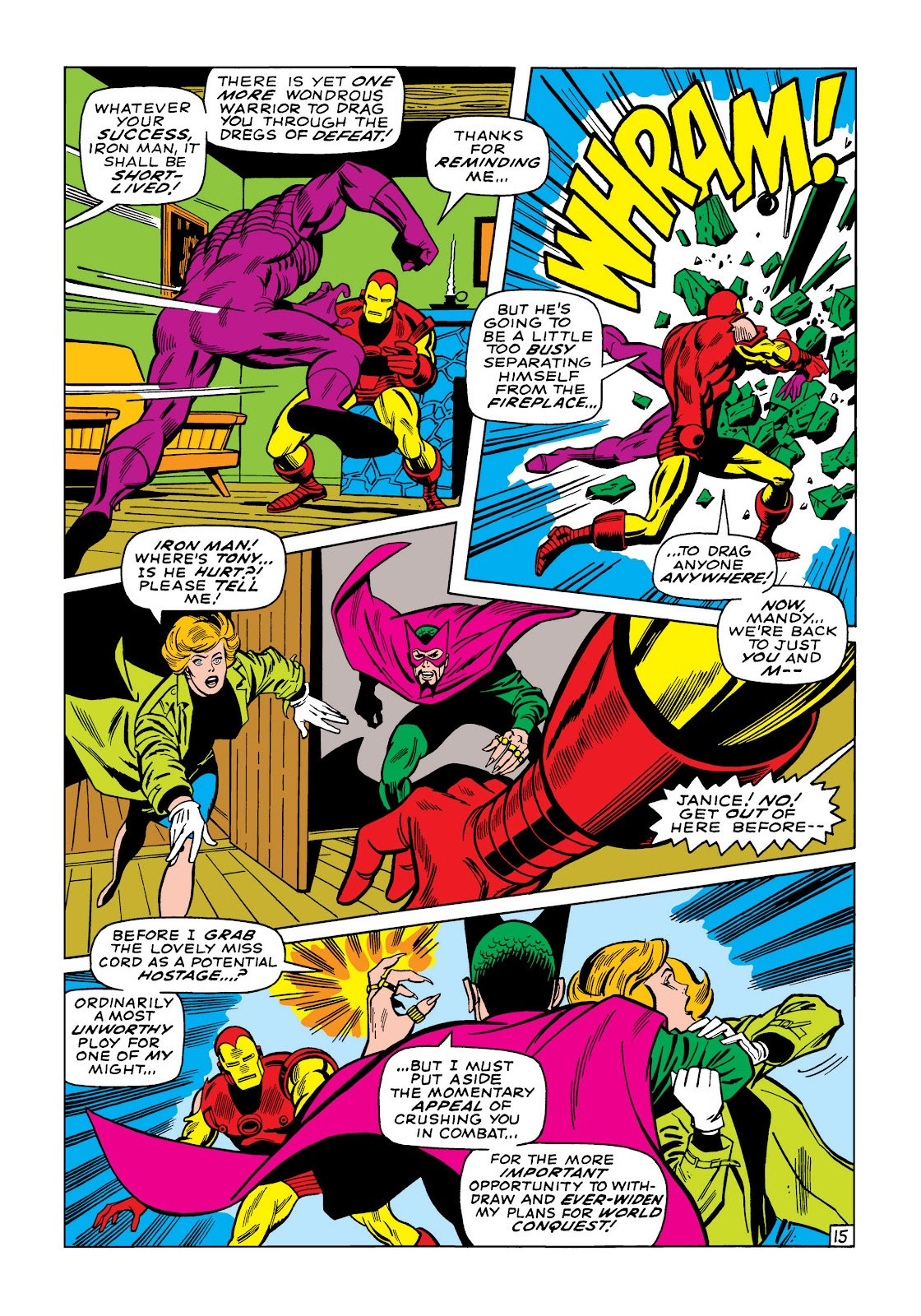 Read online Marvel Masterworks: The Invincible Iron Man comic -  Issue # TPB 5 (Part 3) - 11