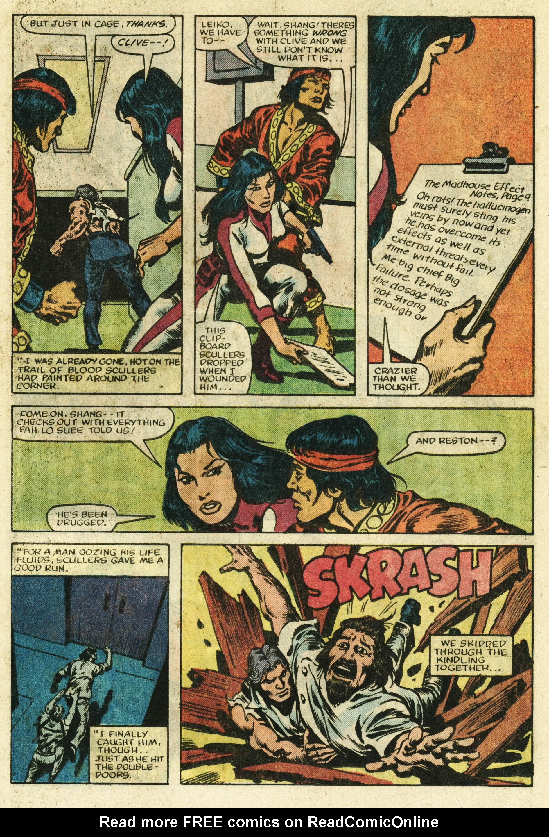 Read online Master of Kung Fu (1974) comic -  Issue #122 - 18