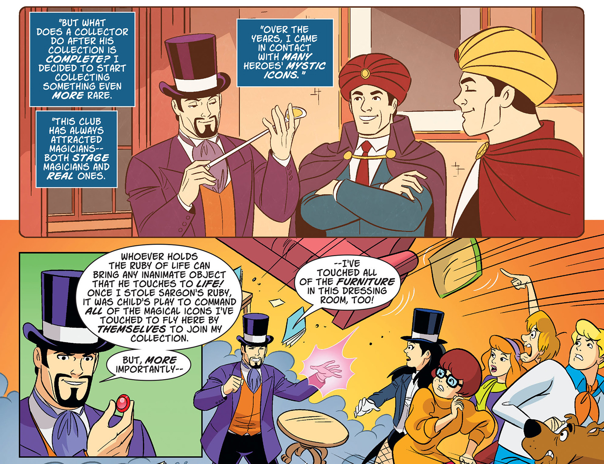 Read online Scooby-Doo! Team-Up comic -  Issue #38 - 13