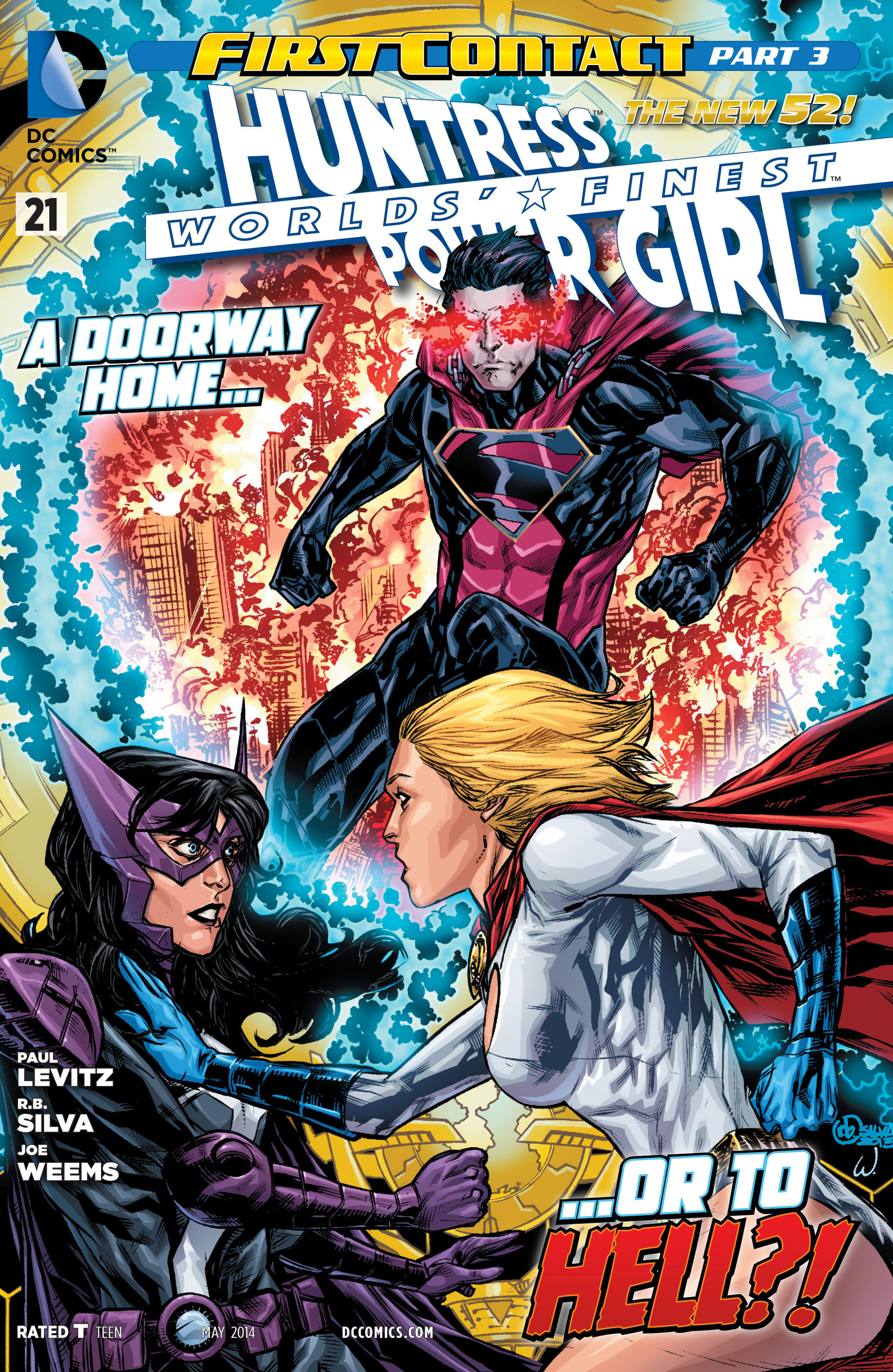 Read online Worlds' Finest comic -  Issue #21 - 1