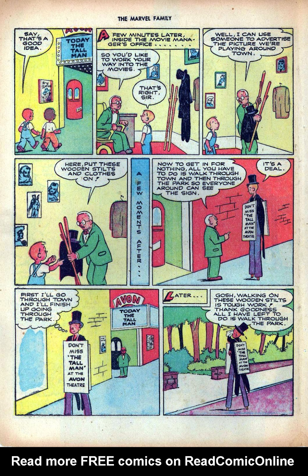 The Marvel Family issue 25 - Page 36