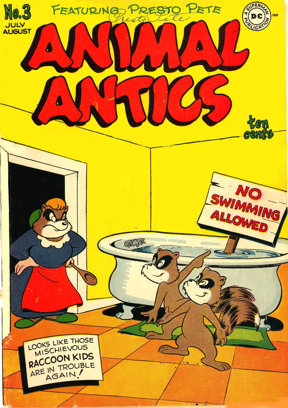 Read online Animal Antics comic -  Issue #3 - 1
