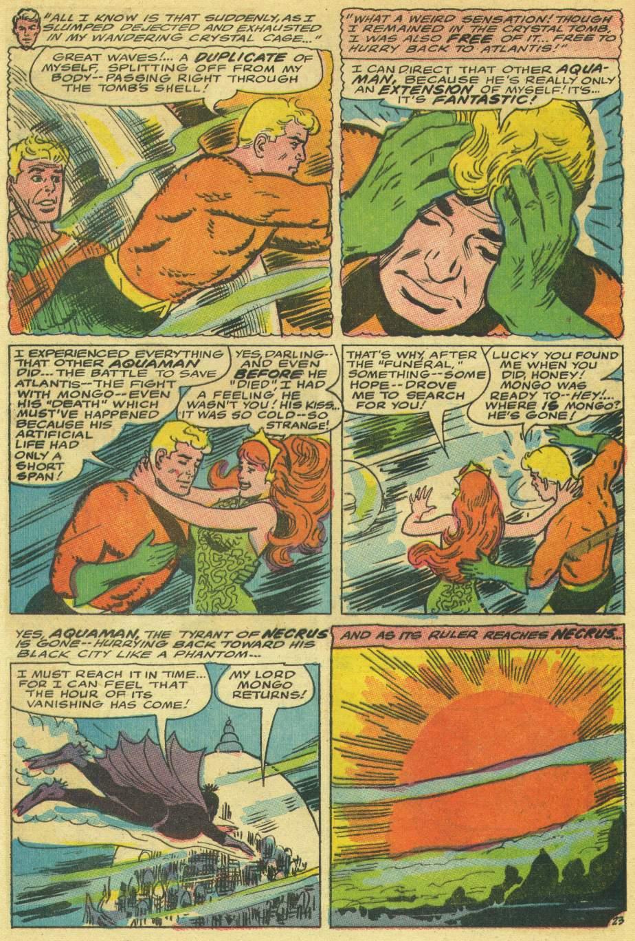 Read online Aquaman (1962) comic -  Issue #30 - 32
