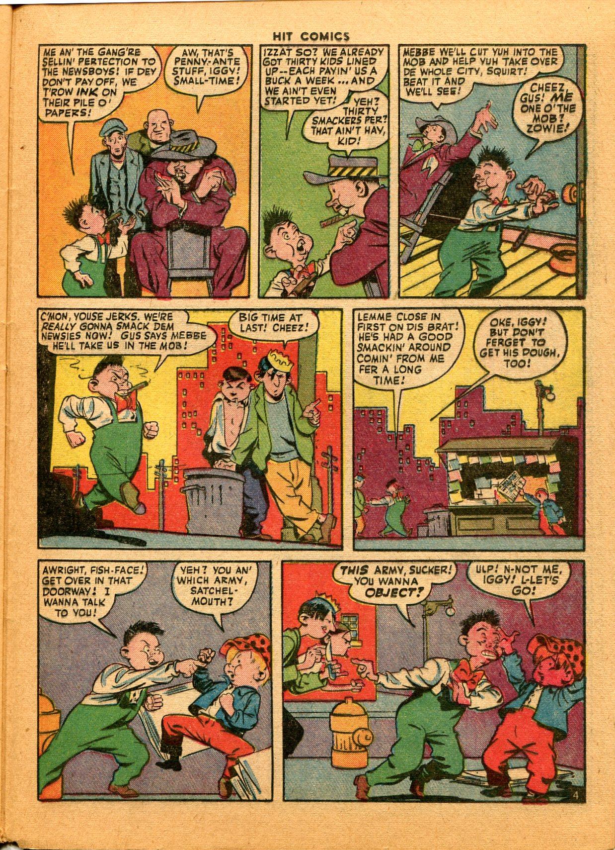 Read online Hit Comics comic -  Issue #35 - 41
