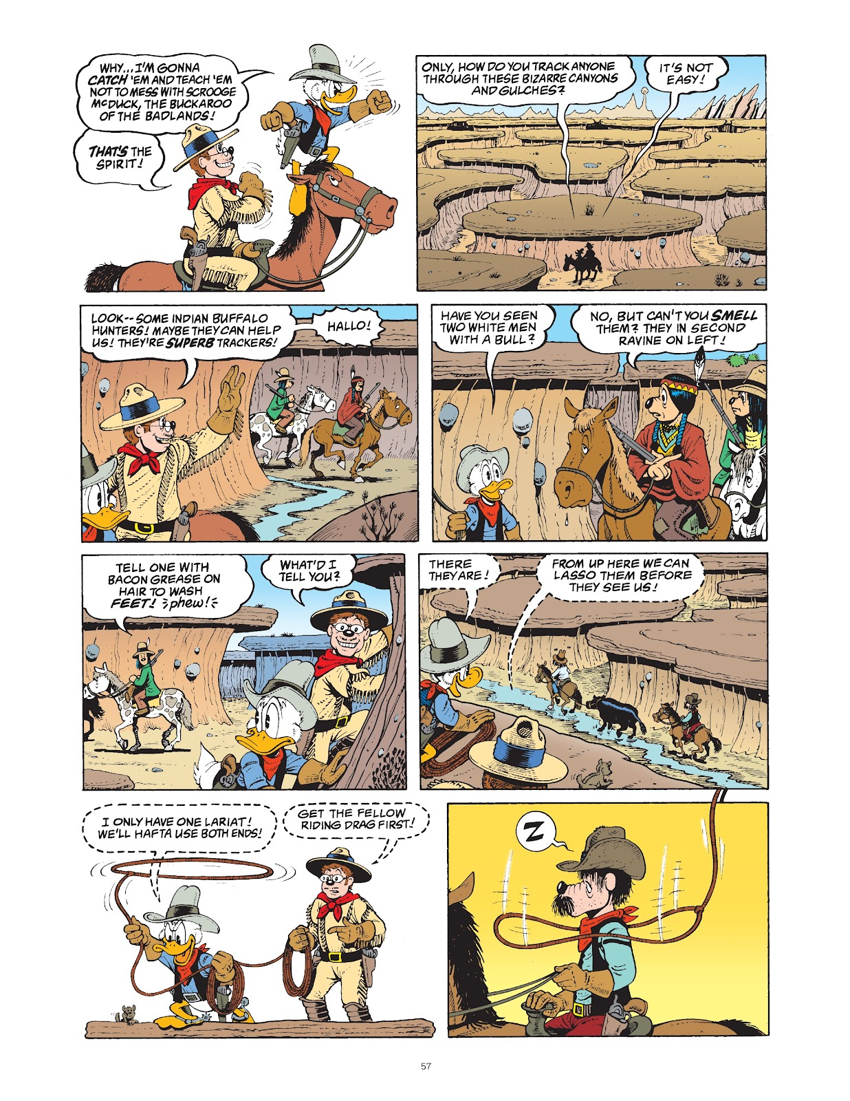 Read online The Complete Life and Times of Scrooge McDuck comic -  Issue # TPB 1 (Part 1) - 62