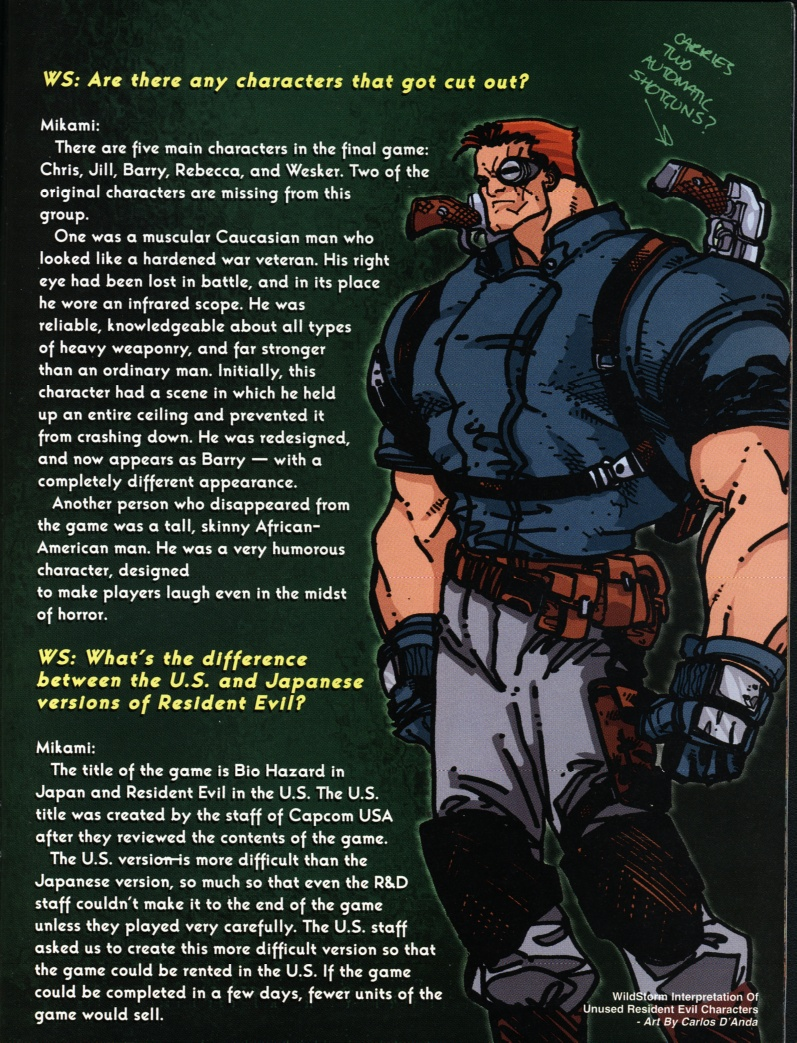 Resident Evil (1998) Issue #1 #1 - English 19