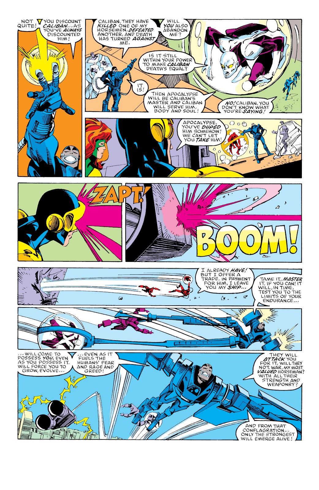 Read online X-Men Milestones: Fall of the Mutants comic -  Issue # TPB (Part 3) - 38