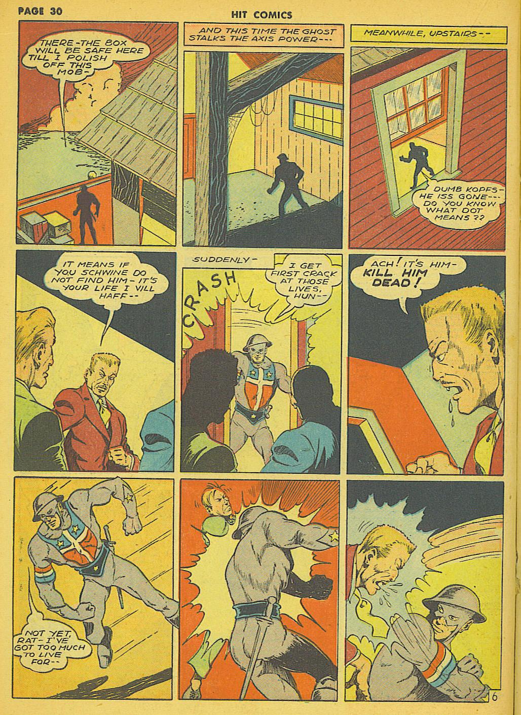 Read online Hit Comics comic -  Issue #21 - 32