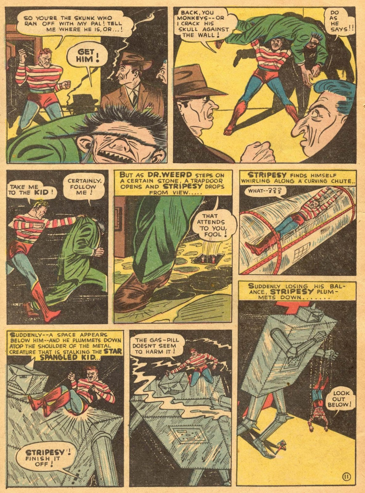 Star Spangled Comics (1941) issue 1 - Page 58