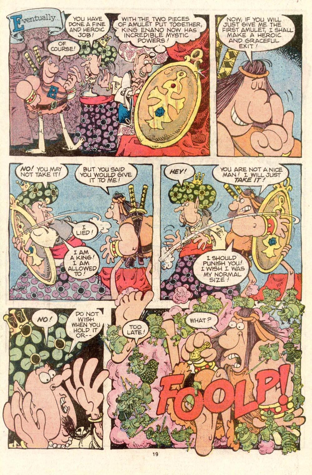 Read online Sergio Aragonés Groo the Wanderer comic -  Issue #26 - 20