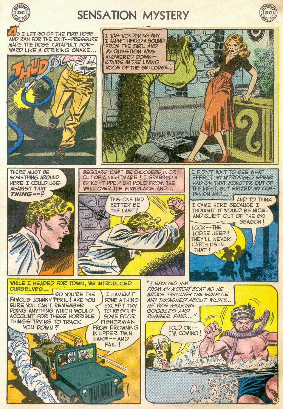 Read online Sensation (Mystery) Comics comic -  Issue #110 - 29