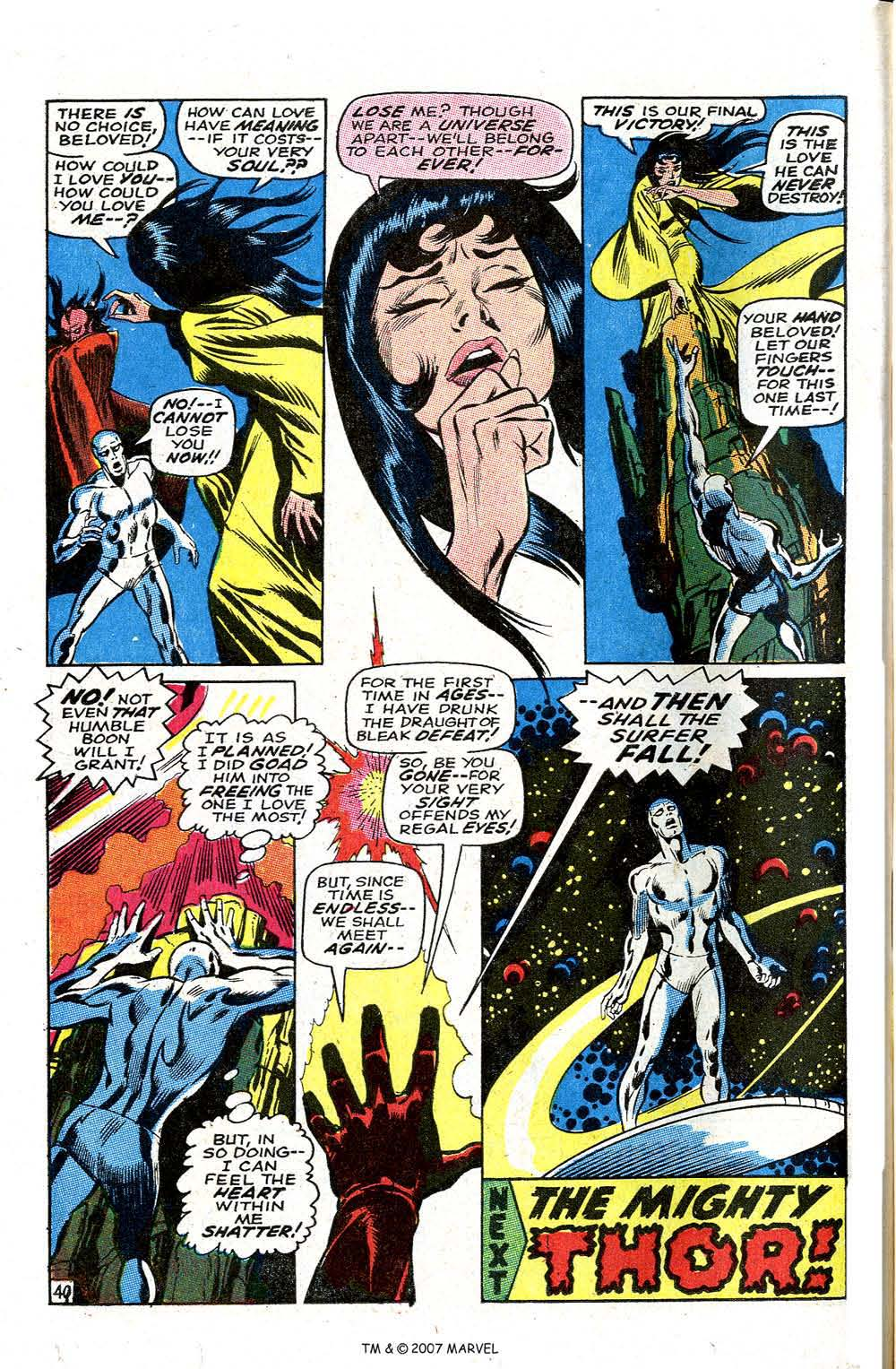 Silver Surfer (1968) issue 3 - Page 50