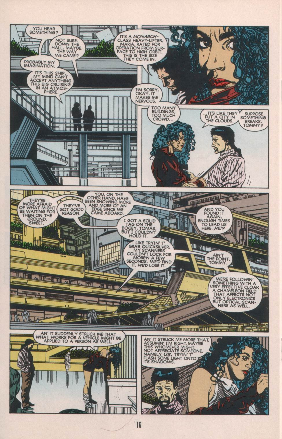 Read online Aliens/Predator: The Deadliest of the Species comic -  Issue #1 - 17
