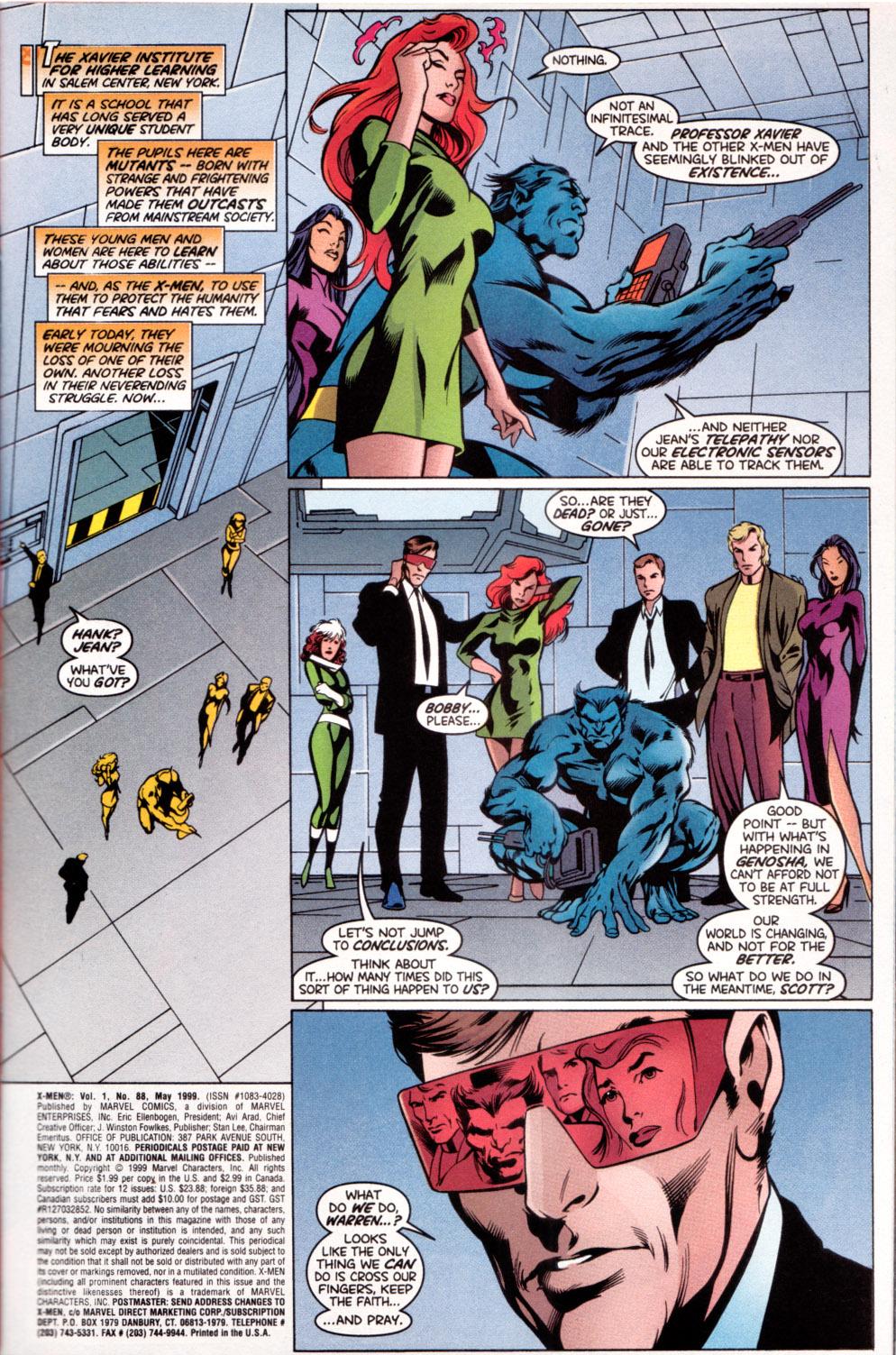 X-Men (1991) 88 Page 1
