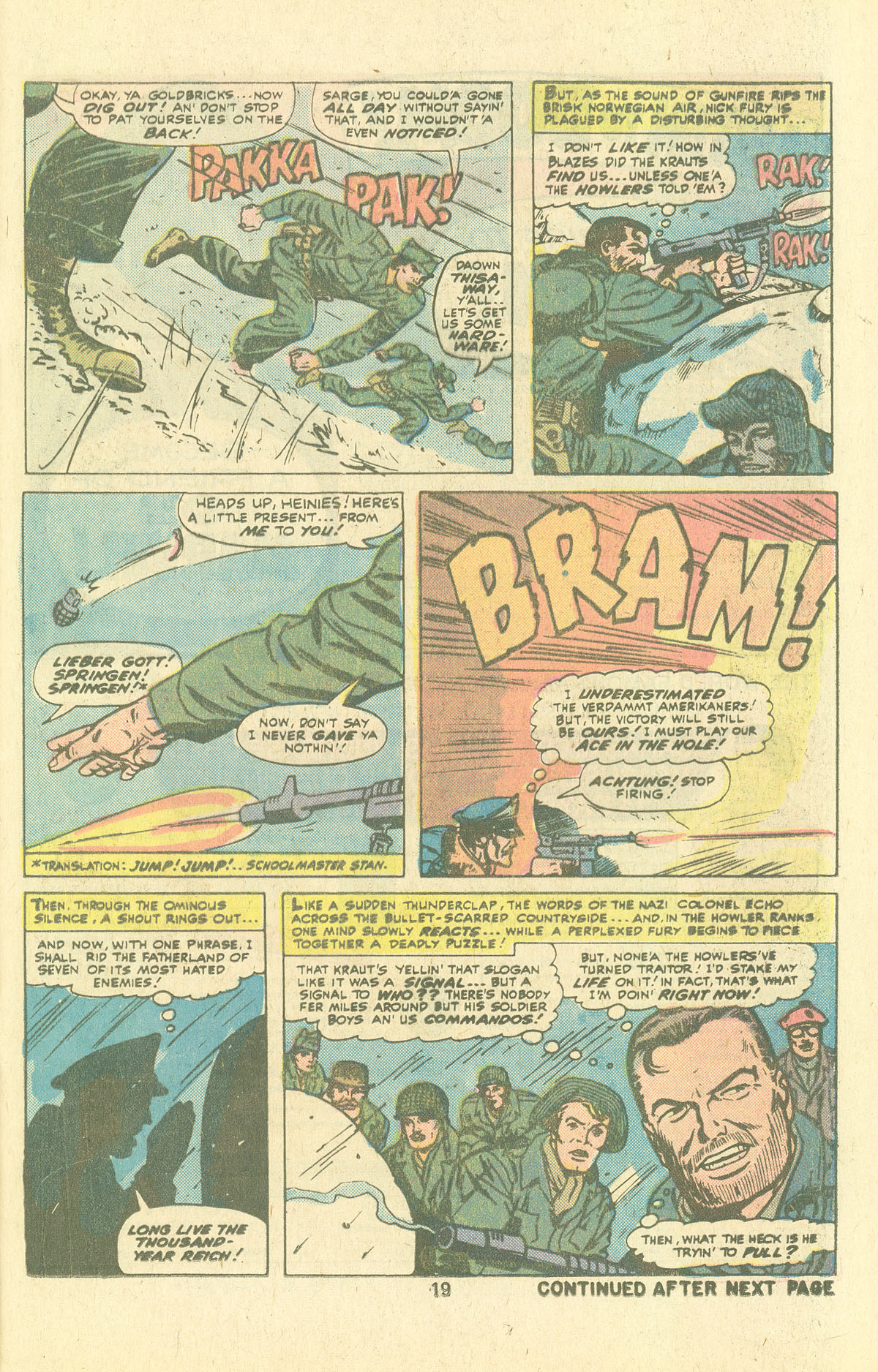Read online Sgt. Fury comic -  Issue #134 - 21