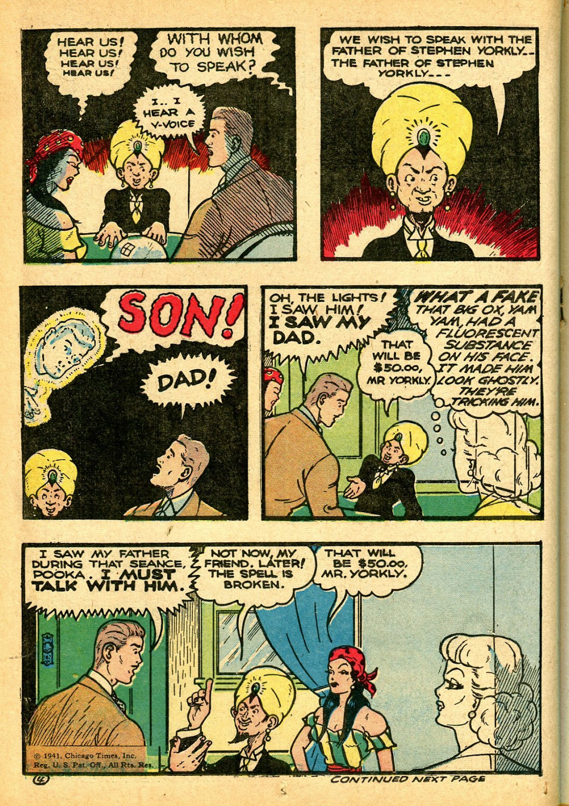 Read online Famous Funnies comic -  Issue #108 - 34