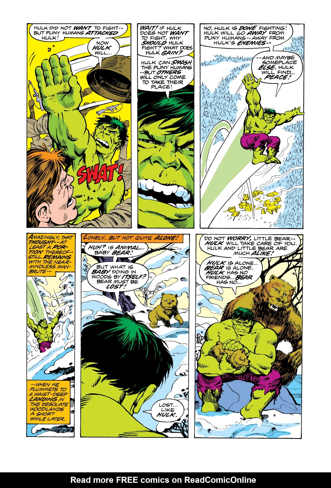 Read online Marvel Masterworks: The Incredible Hulk comic -  Issue # TPB 11 (Part 2) - 23