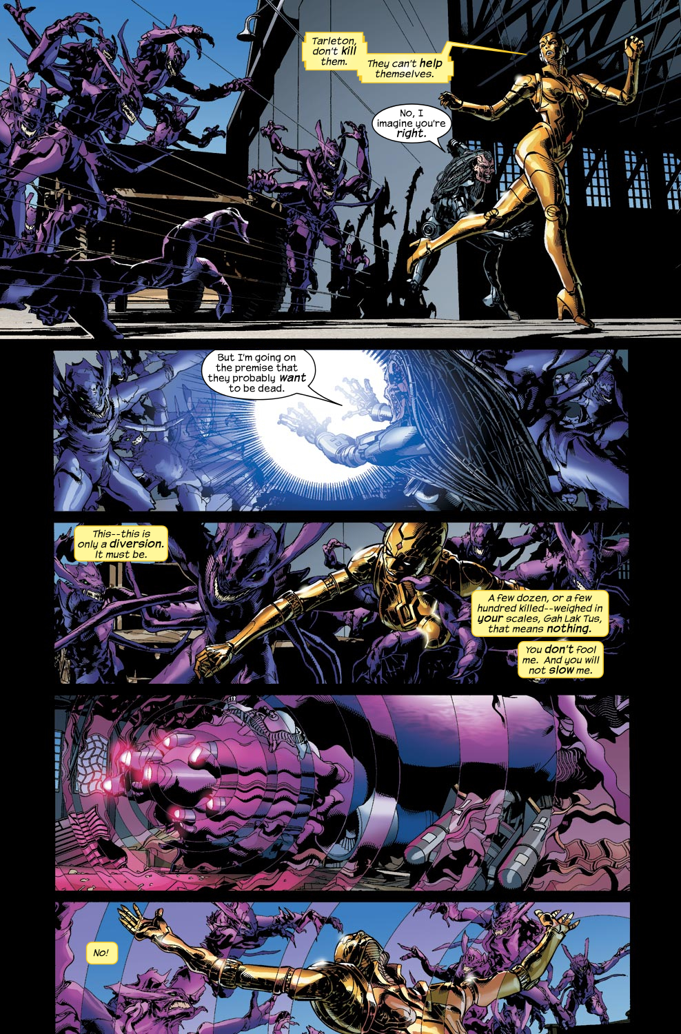Read online Ultimate Vision comic -  Issue #4 - 21