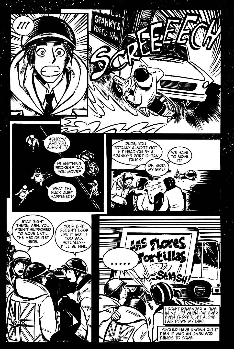 Read online Scooter Girl comic -  Issue #1 - 12