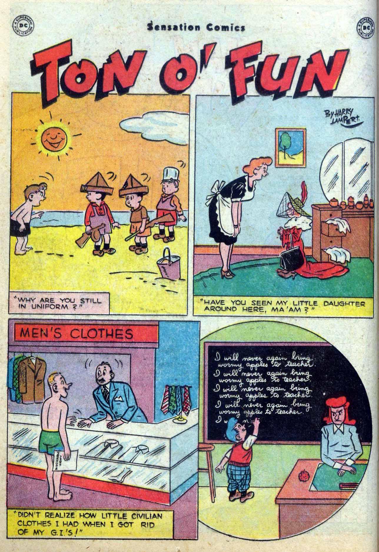 Read online Sensation (Mystery) Comics comic -  Issue #59 - 16