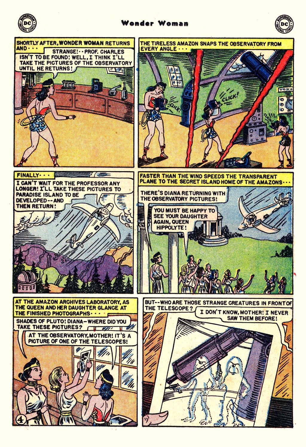 Read online Wonder Woman (1942) comic -  Issue #54 - 18
