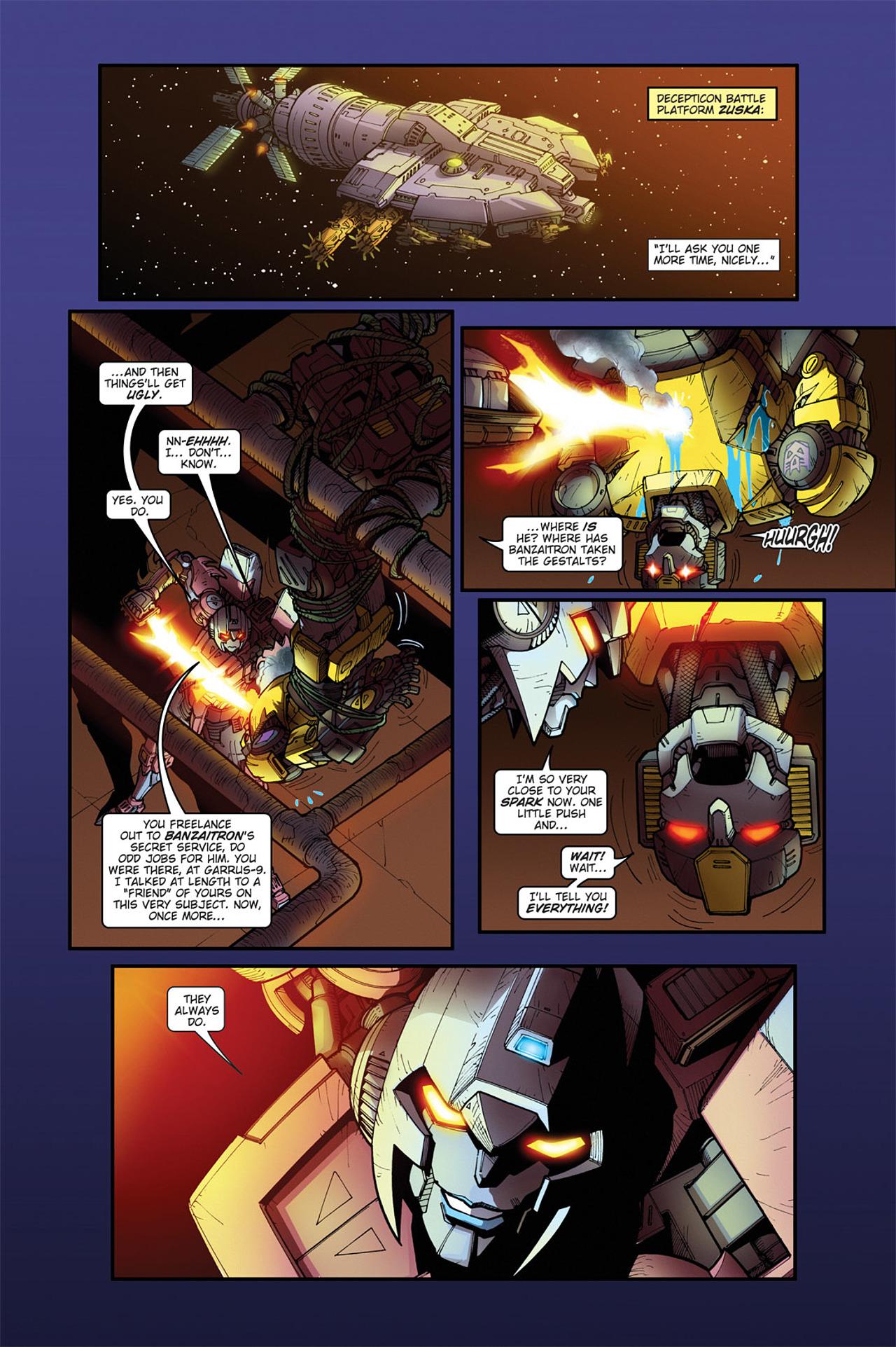 Read online Transformers Spotlight: Cyclonus comic -  Issue # Full - 18