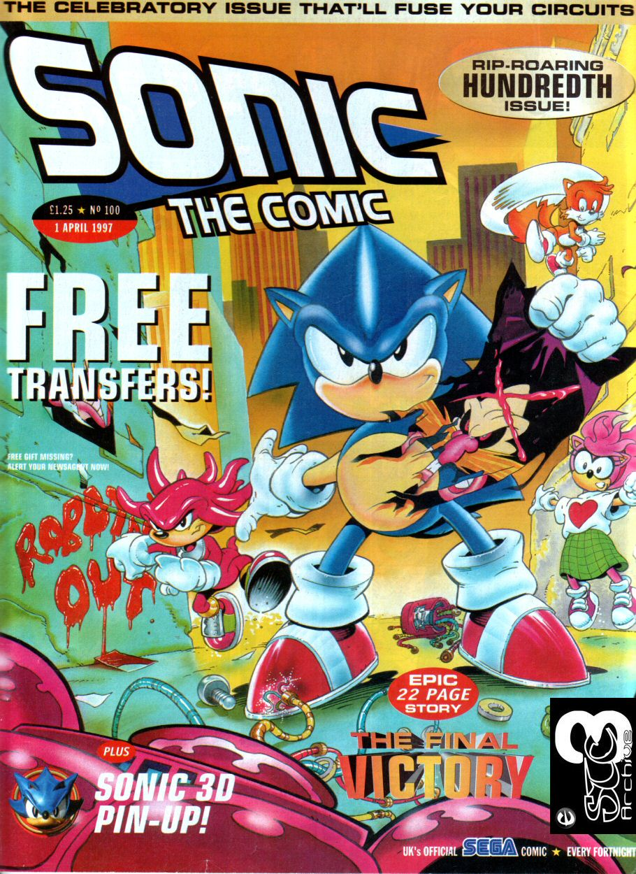 Read online Sonic the Comic comic -  Issue #100 - 1