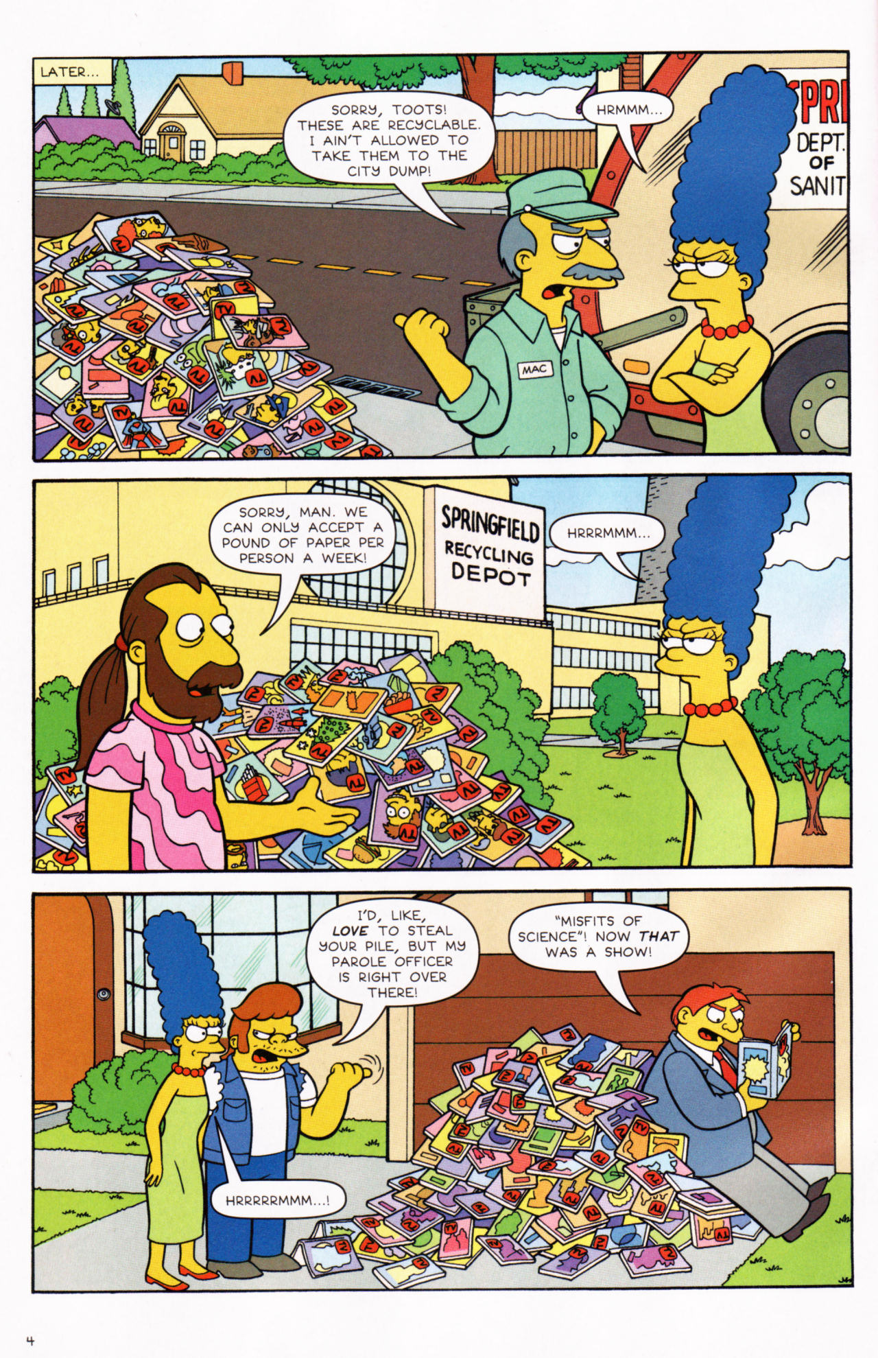 Read online Simpsons Comics comic -  Issue #130 - 5
