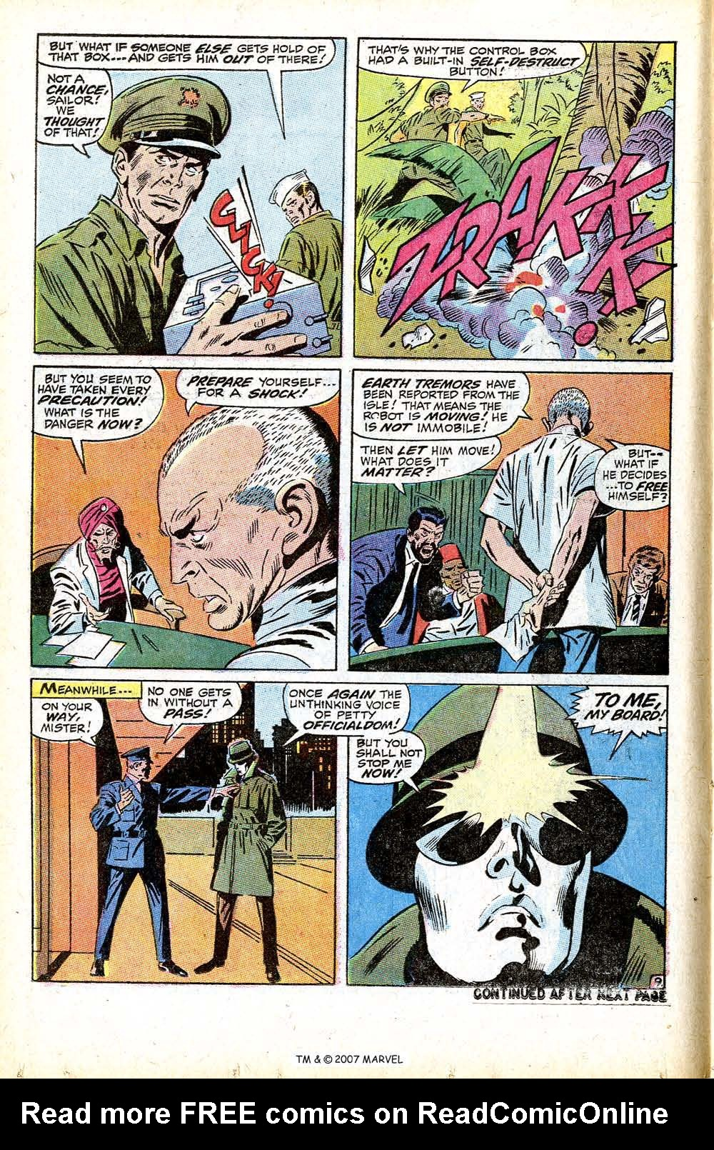 Read online Silver Surfer (1968) comic -  Issue #13 - 14