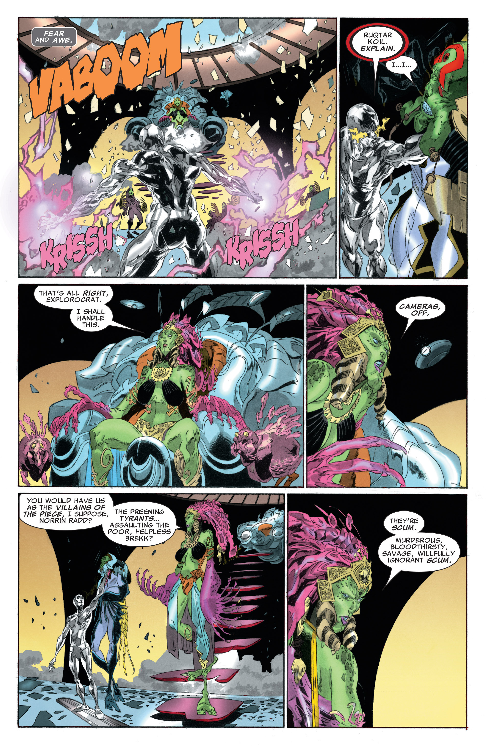 Read online Silver Surfer: In Thy Name comic -  Issue #3 - 17