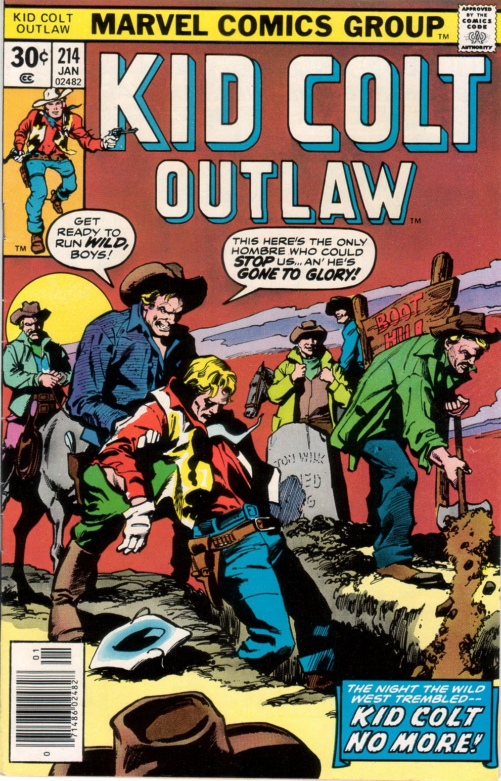 Kid Colt Outlaw issue 214 - Page 1