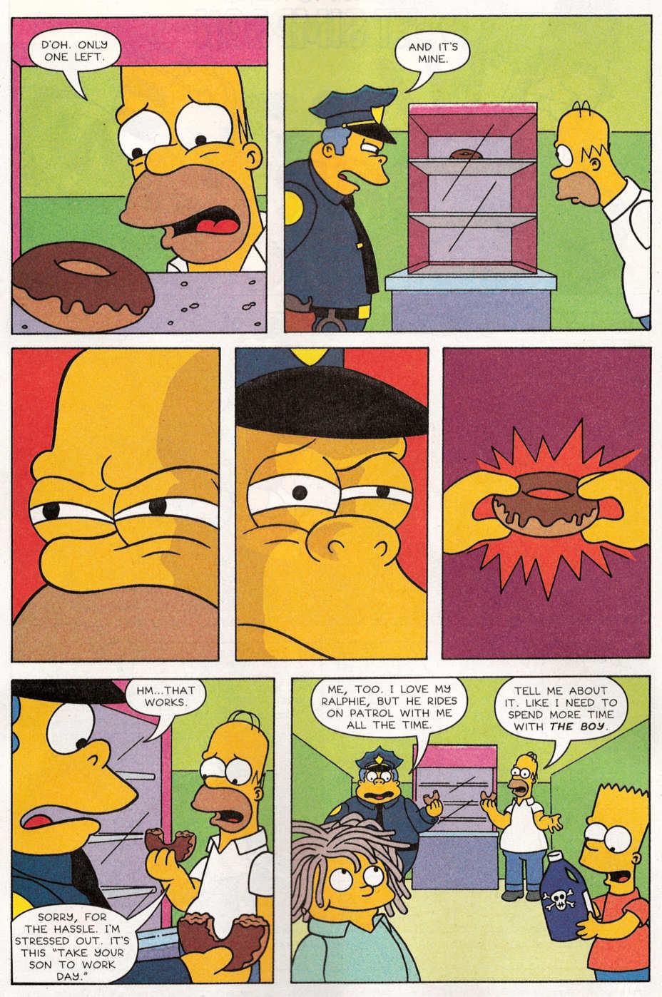 Read online Simpsons Comics Presents Bart Simpson comic -  Issue #29 - 3
