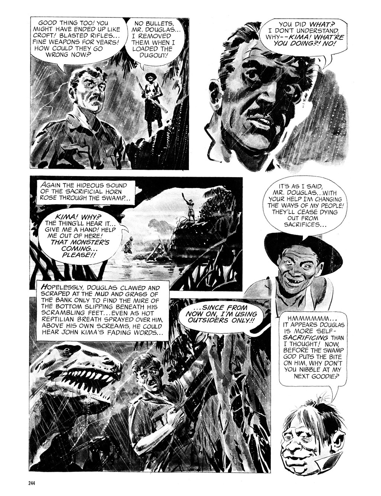 Read online Eerie Archives comic -  Issue # TPB 1 - 245