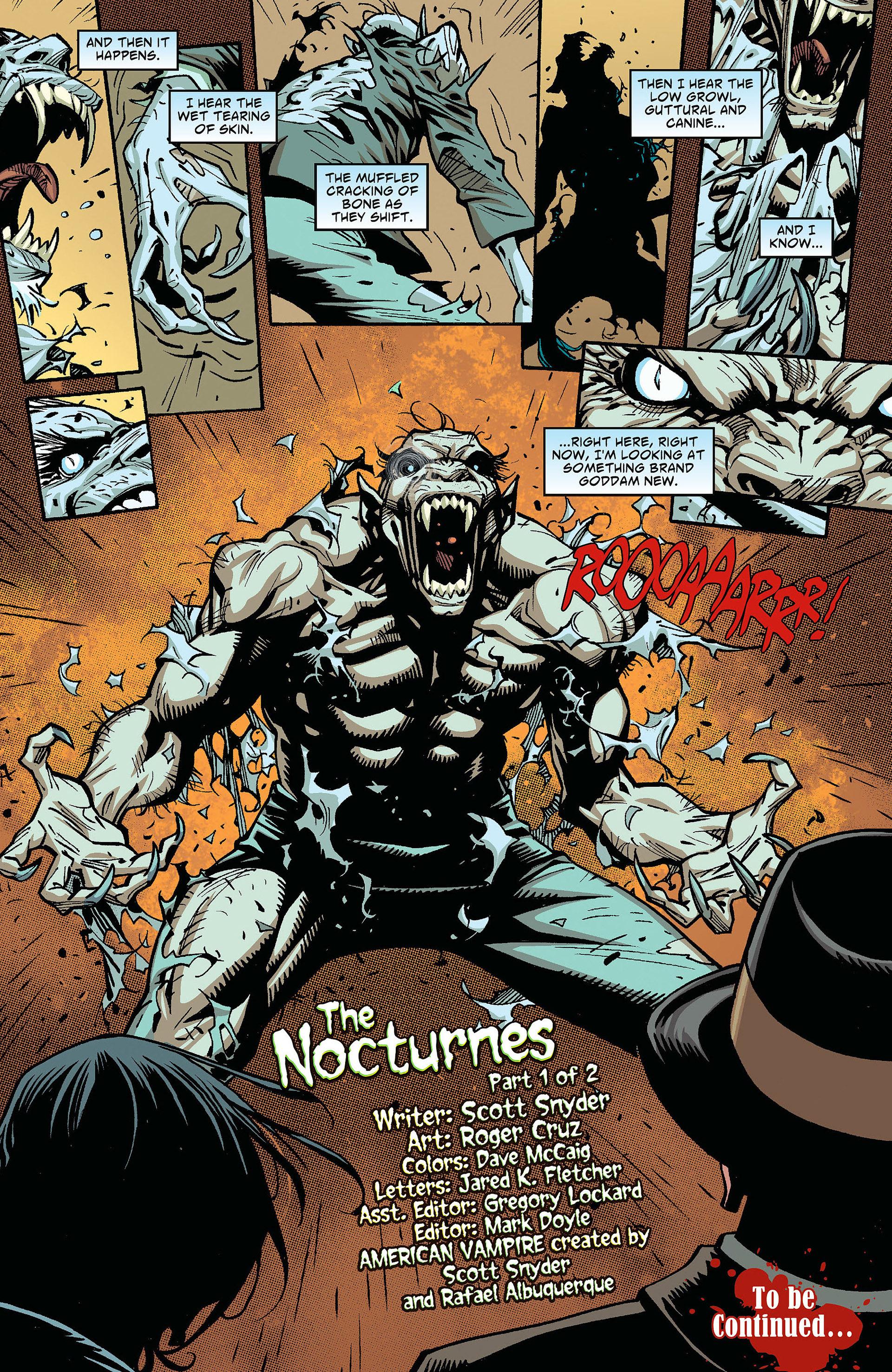 Read online American Vampire comic -  Issue #26 - 21