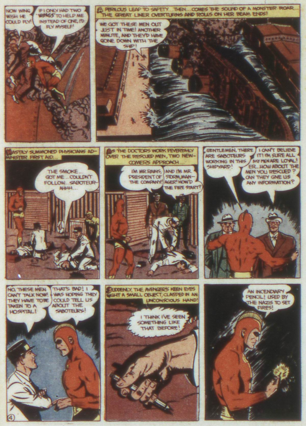 Read online Detective Comics (1937) comic -  Issue #74 - 34