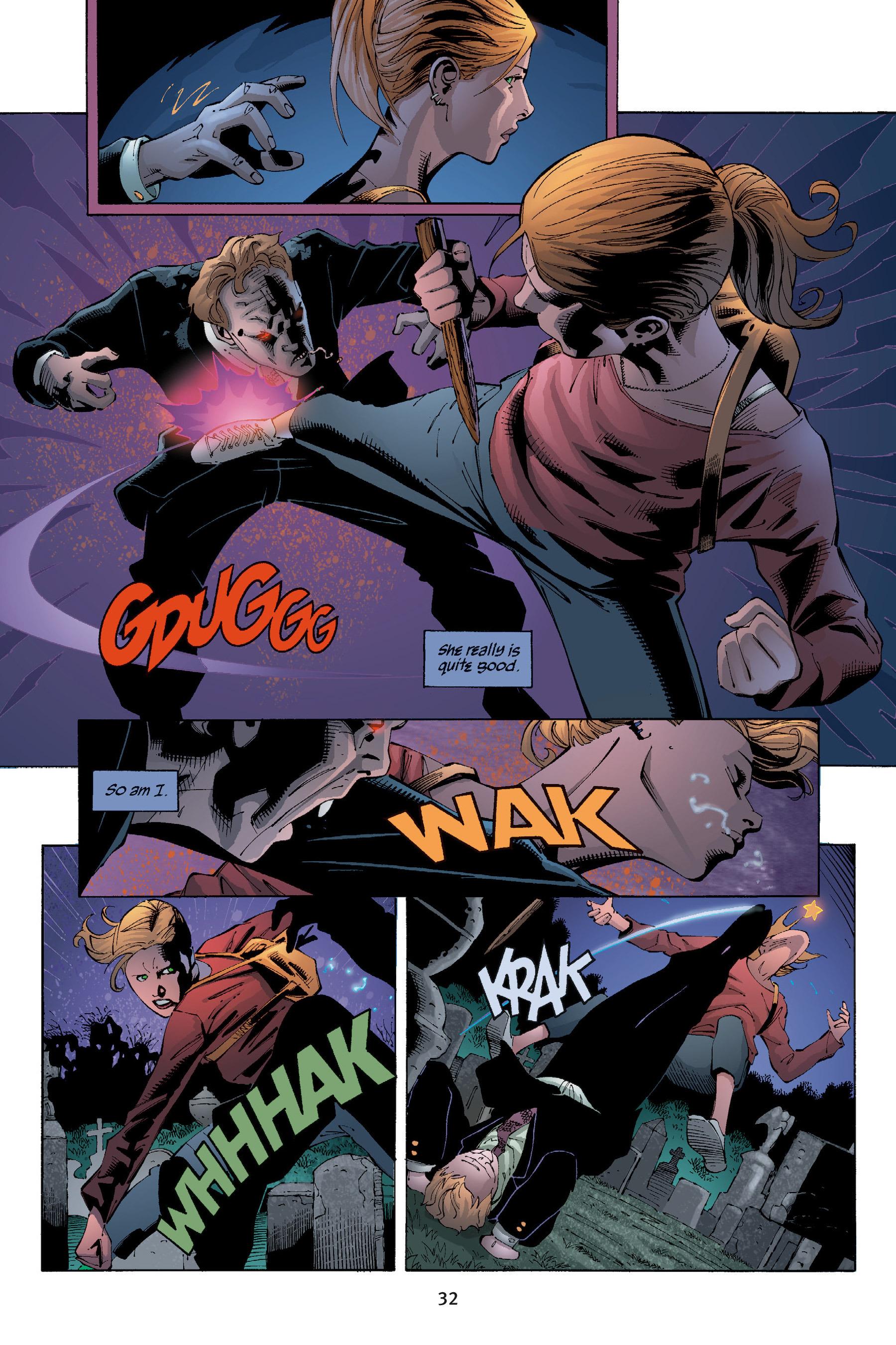 Read online Buffy the Vampire Slayer: Omnibus comic -  Issue # TPB 5 - 33