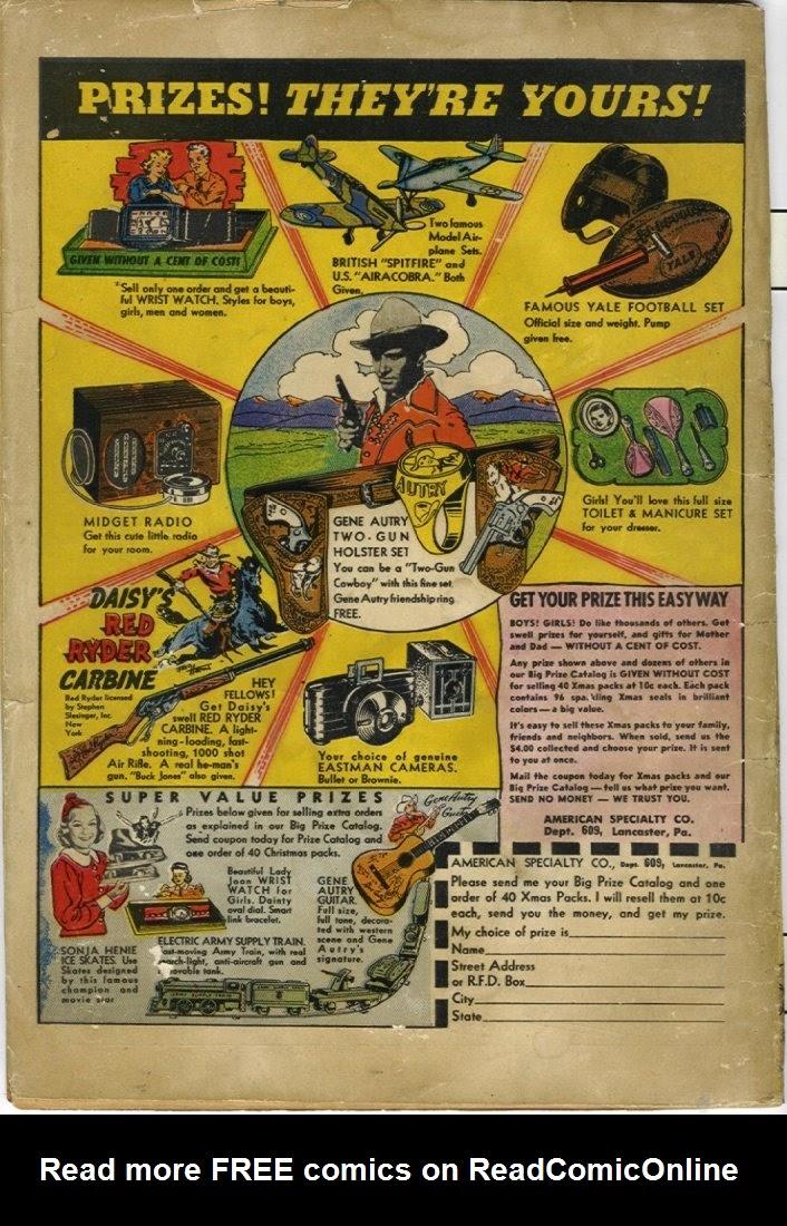 Read online Amazing Man Comics comic -  Issue #25 - 68