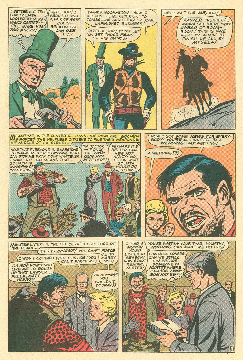 Read online Two-Gun Kid comic -  Issue #105 - 19