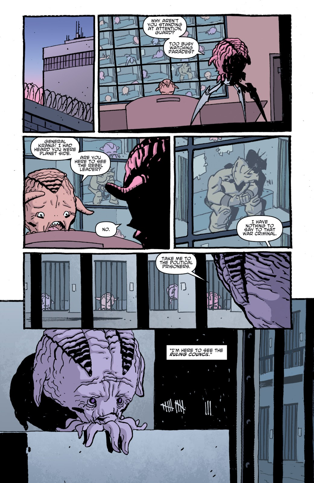 Read online Teenage Mutant Ninja Turtles: The IDW Collection comic -  Issue # TPB 4 (Part 1) - 81