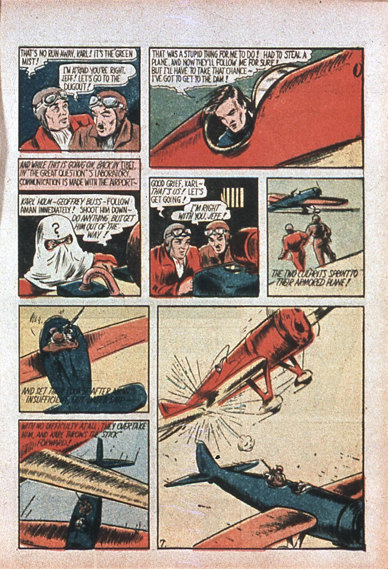 Read online Amazing Man Comics comic -  Issue #7 - 10