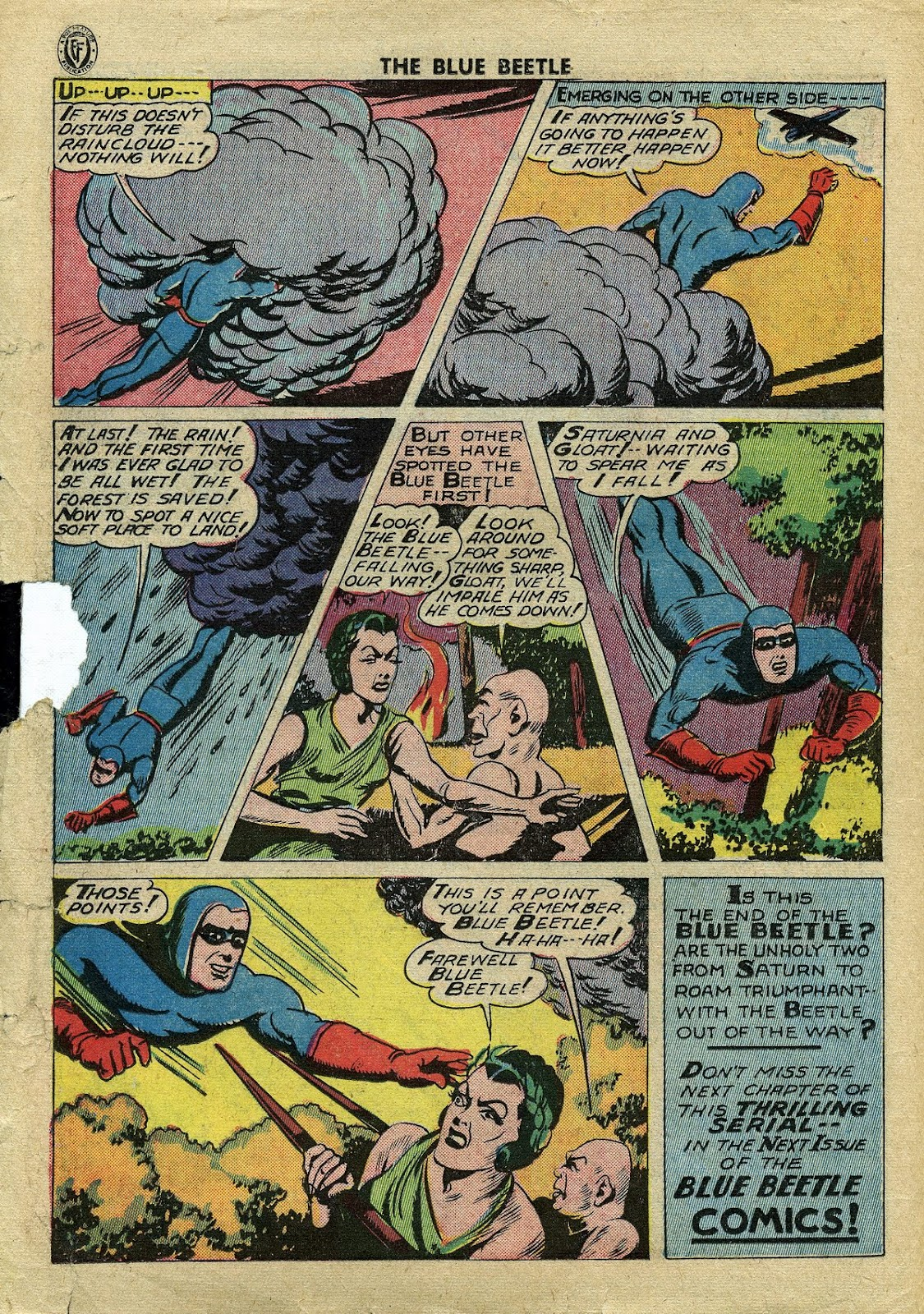 The Blue Beetle issue 34 - Page 23