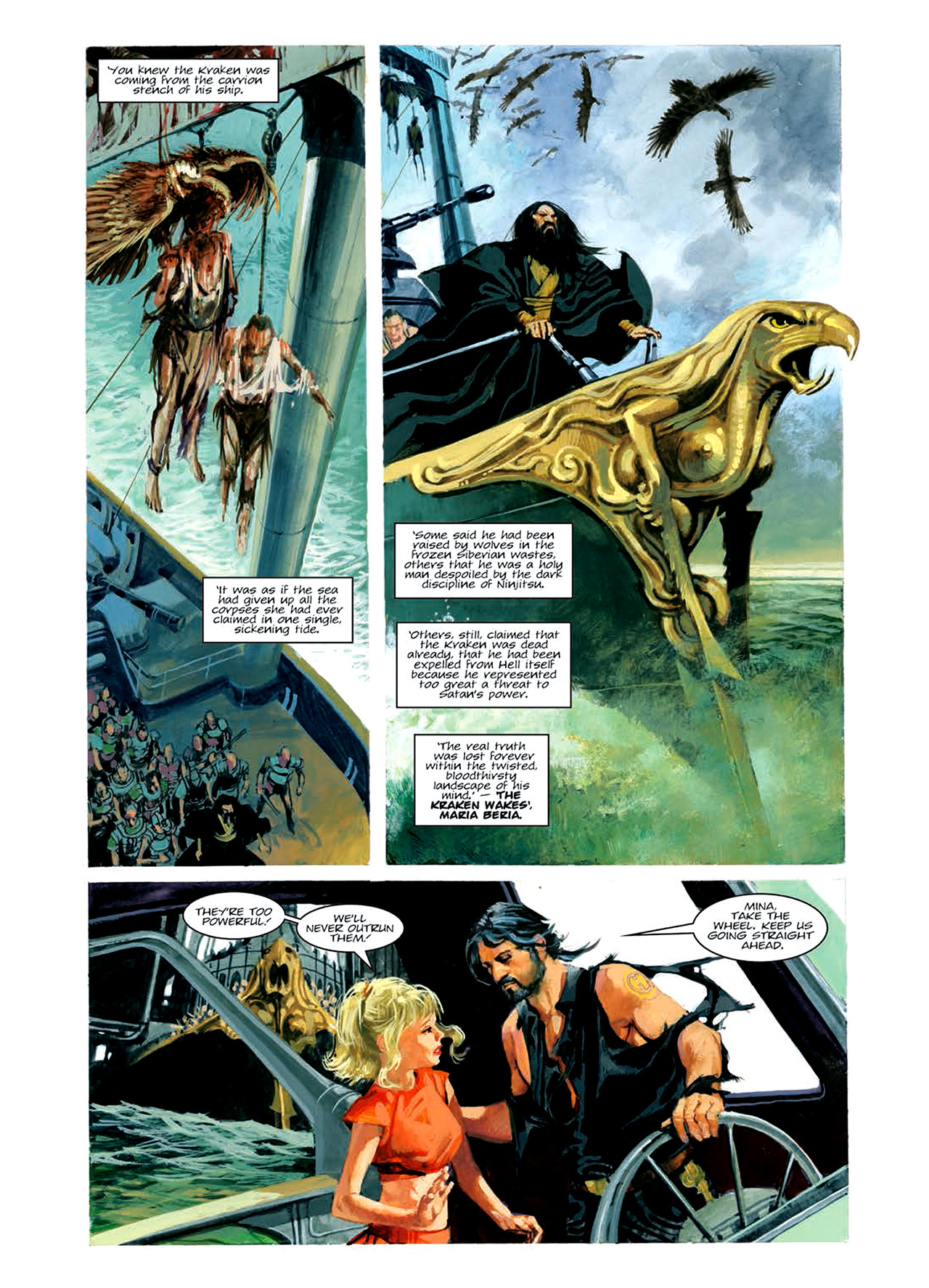 Read online Nikolai Dante comic -  Issue # TPB 6 - 98