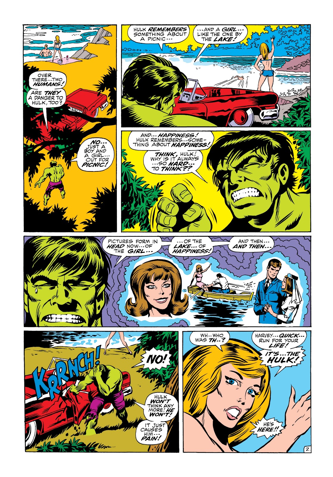 Read online Marvel Masterworks: The Incredible Hulk comic -  Issue # TPB 6 (Part 1) - 74