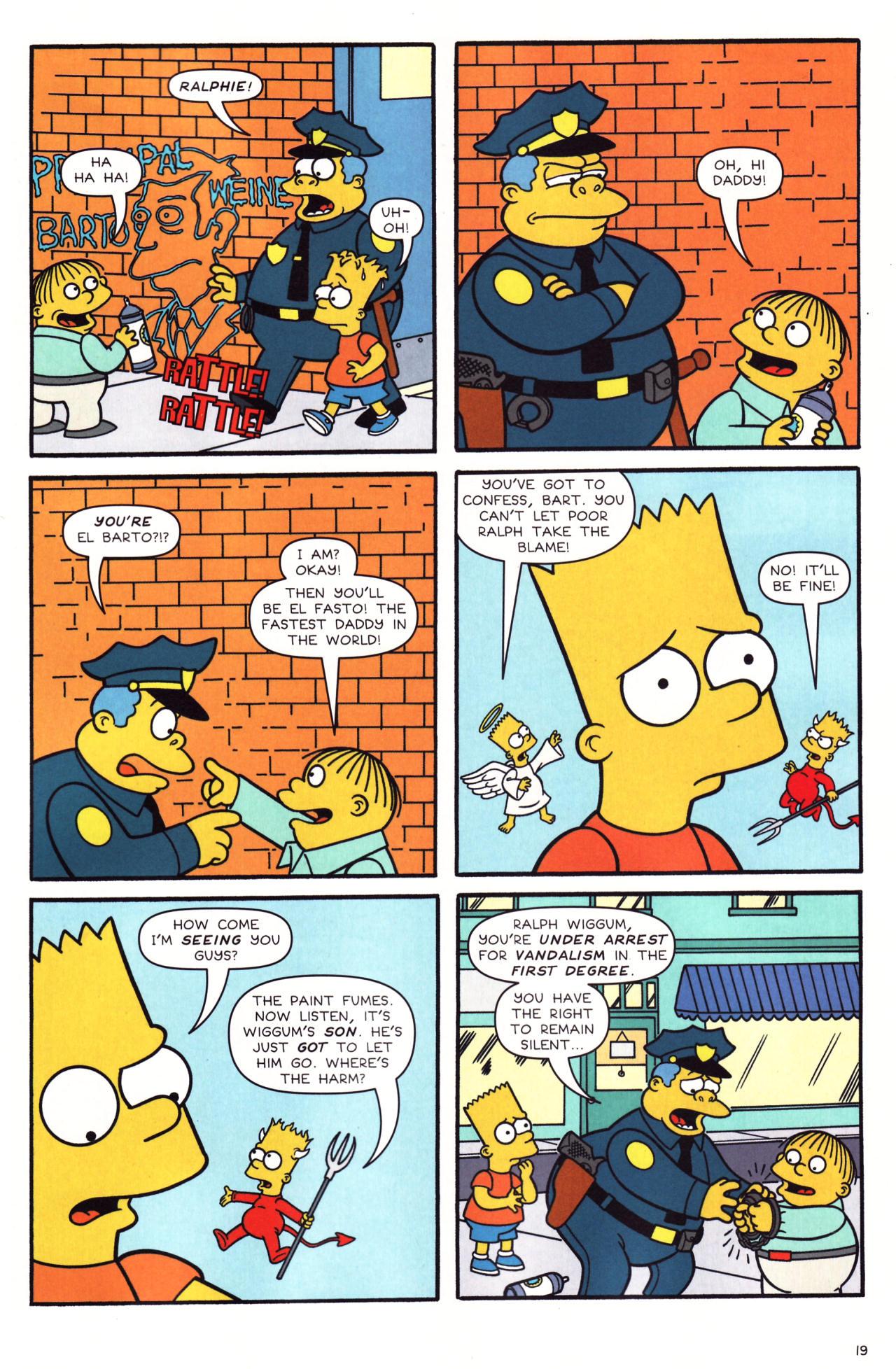Read online Simpsons Comics comic -  Issue #136 - 14