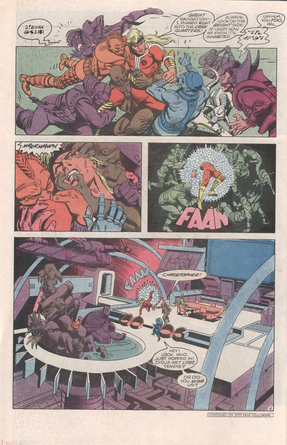 Read online Atari Force (1984) comic -  Issue #6 - 6